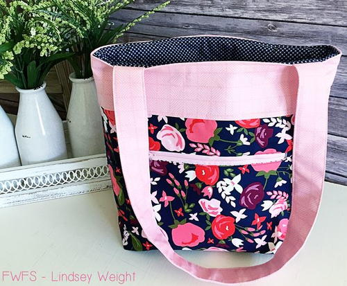 Posy Pocket Tote Tutorial