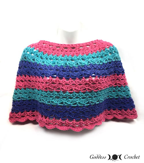 Lacy Days Poncho