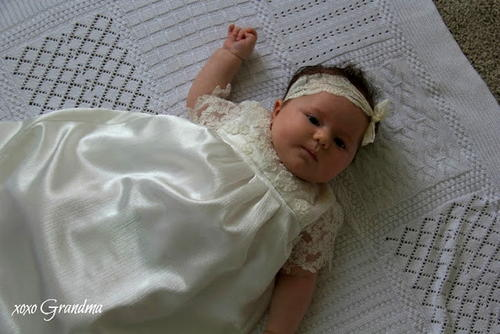 Christening Gown Sewing Pattern
