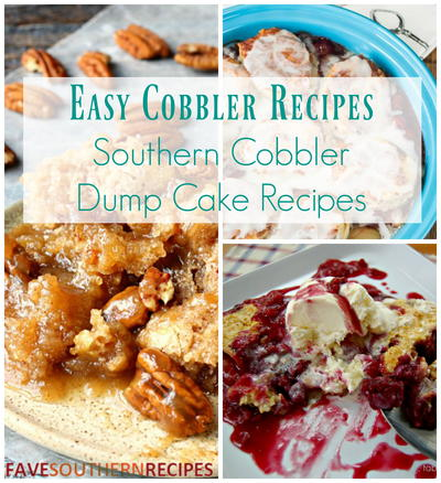 Cobbler Made With Cake Mix And Soda