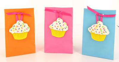 Cutest Cupcake DIY Goodie Bags