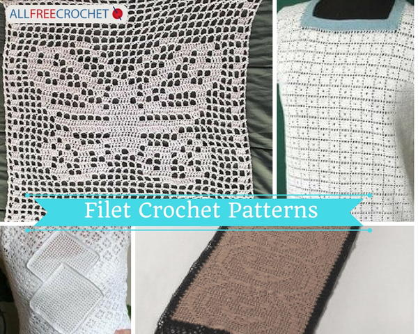 Filet Crochet Projects