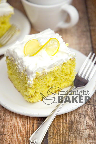 Lemon Lovers Poke Cake