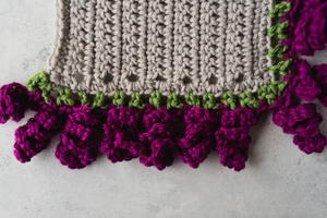 How to Crochet Curly Q Edging