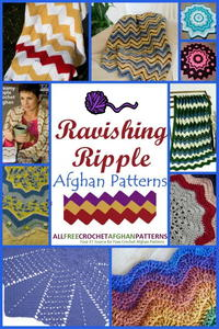 15 Ravishing Ripple Afghan Patterns