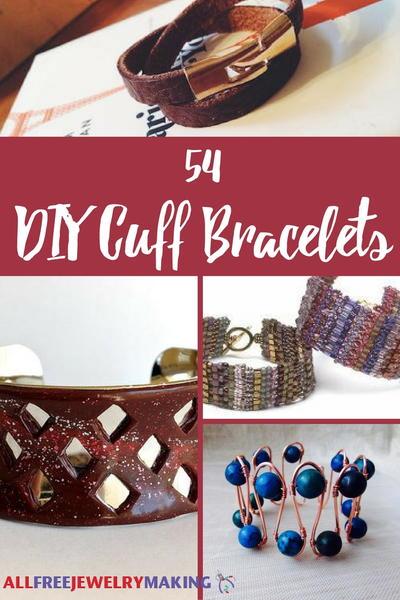 54 DIY Cuff Bracelets