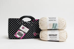 Creative Options Crochet Tote and Home Dec Yarn Giveaway