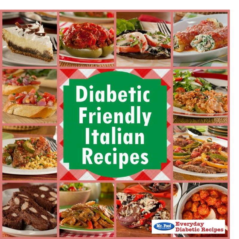 Diabetic Friendly Italian Recipes Everydaydiabeticrecipes Com