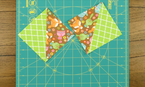 Half Square Triangles Sewing Tutorial