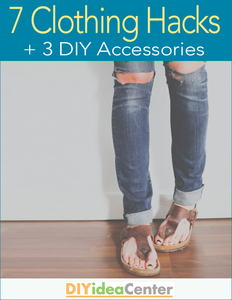 7 Clothing Hacks + 3 DIY Accessories