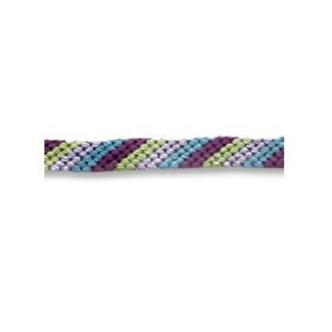 Diagonal Stripe Friendship Bracelet Pattern