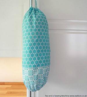 Diy Plastic Bag Storage Allfreesewing
