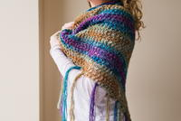 How to Crochet an Oversized Shawl
