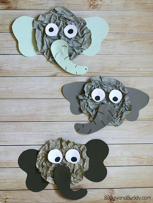 Unique Elephant Paper Craft