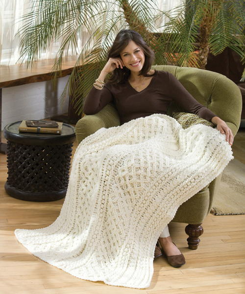 Lattice Crochet Cable Pattern Allfreecrochetafghanpatternscom