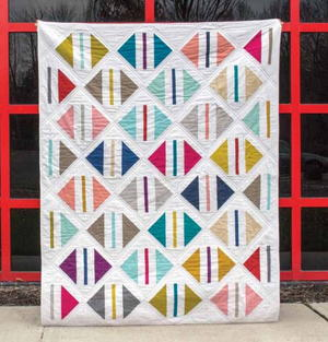 fast and easy simple Patchwork QUILT PATTERN Jelly Roll or Fat Quarters