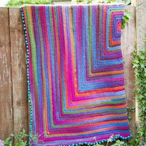 Joys Journey Crochet Afghan