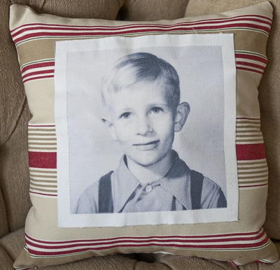 Vintage Photo DIY Pillow