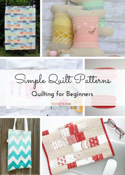 Simple Quilt Patterns Quilting for Beginners