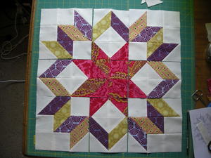 Dutch Rose Block Tutorial