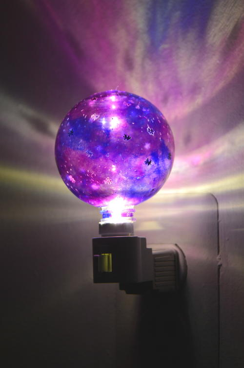 DIY Galaxy Night Lamp_1