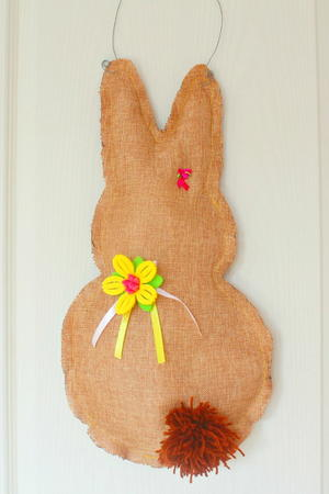 Easter Bunny Diy Wreath Favecrafts Com