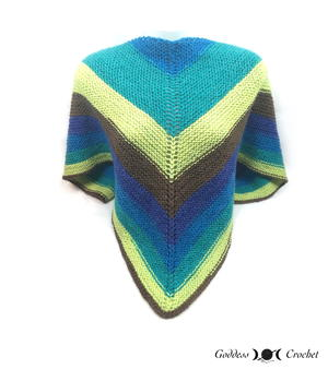 The Easiest Shawl