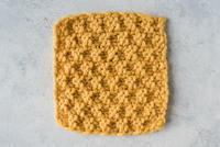 Simple Moss Stitch Dishcloth