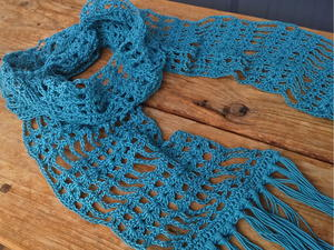Simply Lace Scarf