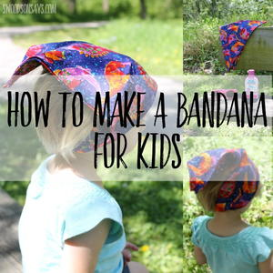 Simple Kids Bandana
