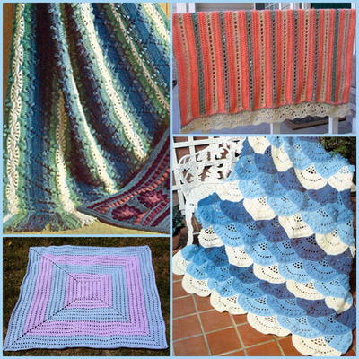 Colorful Crochet Lace Patterns