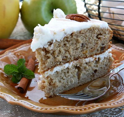 Just Like Olivia Waltons Applesauce Cake