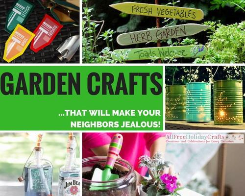 47 Garden Crafts That Will Make Youru2026