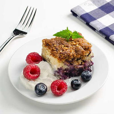 1950s Blueberry Buckle