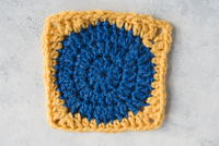Bath Mat Granny Square Pattern