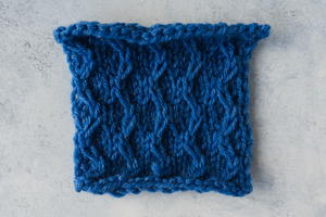 How to Knit the Zig Zag Slip Stitch