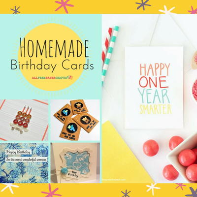 26 Homemade Birthday Cards Allfreepapercrafts Com