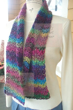 Unforgettable Stained Glass Scarf