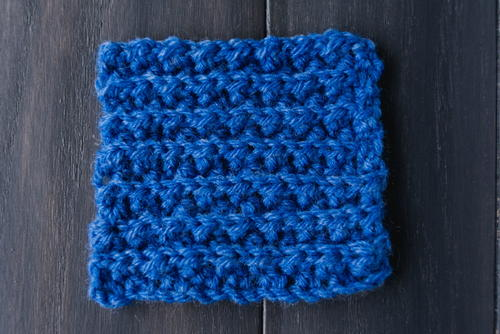 Faux Mistake Rib Stitch Crochet Tutorial