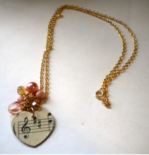 Music Lover's Necklace