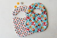 Adorable Sewn Baby Bib