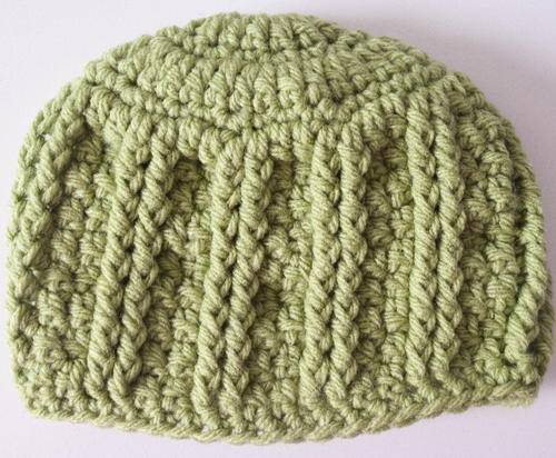 Simple Textures Newborn Hat