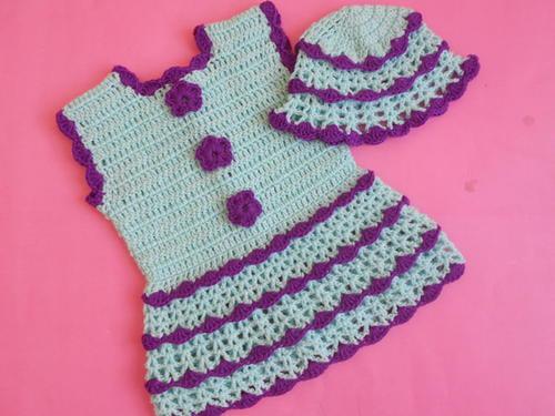 Baby Summer Dress Frock Allfreecrochet Com