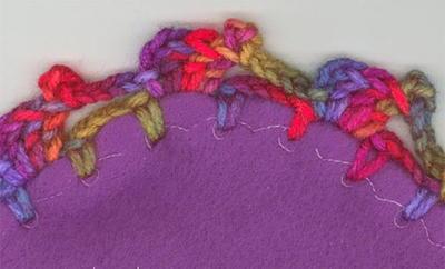 How To Crochet Elephant Edging | Crochet edging patterns, Crochet ... | 242x400