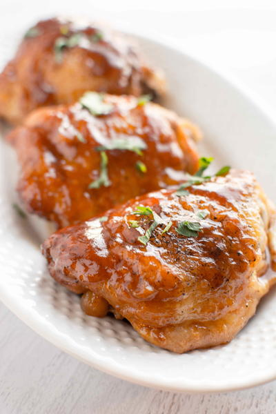 Slow Cooker Honey Chipotle BBQ Chicken