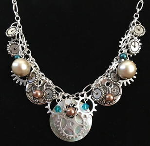 Steampunk Oldjunk Necklace