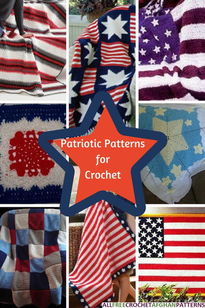 Stars and Stripes 22 Patriotic Patterns for Crochet