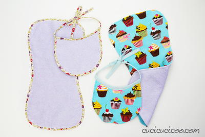 Bib and Burp Cloth Free Pattern_1