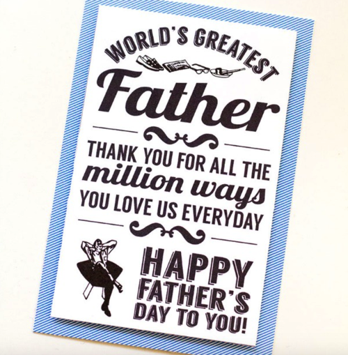 Worlds Greatest Printable Fathers Day Cards