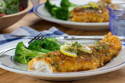 Lemon-Butter Fish Fillets